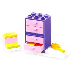 Conjunto de móveis em miniatura on-line-DIY Miniatura Conjuntos de Móveis Para Mini Casa De Boneca Miniaturas Móveis Brinquedos Presentes Para Crianças Adulto