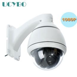 Wholesale dome outdoor zoom - cctv security 1080P HD AHD Camera PTZ outdoor mini speed dome pan tilt 4x zoom video surveillance RS485 2mp ahd 2000TVL PTZ cam