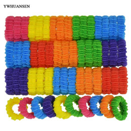 Wholesale Cheap Hair Bows Wholesale - 100pcs lot Beautiful accessories Nice bands Good hair rope Best clips Cheap hair bows girls 2018