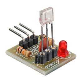 transmisor receptor sensor Rebajas Módulo de sensor Tarjeta No modulador Tubo para Arduino 16 x 19 mm Receptor láser Transmisor Rendimiento estable Nivel alto / bajo