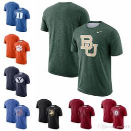 Duck Blue Devils Clemson Tigres Cougars Boise État Broncos Baylor Bears Armée Noir Chevaliers Sideline Performance T-Shirt ? partir de fabricateur