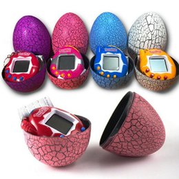 2019 яйца MINOCOOL электронные виртуальные домашние животные машина E-pet тамагочи динозавр яйцо игрушки культивировать игровой автомат ретро кибер игрушка ручной игры дешево яйца
