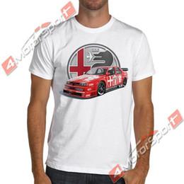 Ti t shirt онлайн-Alfa Romeo 155 V6 Ti 1993 DTM Racinger футболка Nurburgring футболка мужская 2018 новые футболки печать