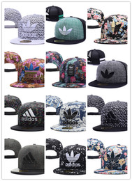 Wholesale Brooklyn Snapback - 2018 new fashion black brown brooklyn snapback hats baseball caps for men women brand cap sports hip hop flat sun hat bone gorras Casquette