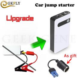 Jumper cars on-line-LED Multi-Function Car Ir para iniciantes 12000mAh 400A Iniciando dispositivo portátil Power Bank 12V Car Jumper Car Charger Baery