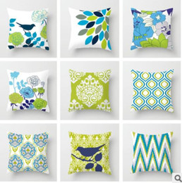 Wholesale Bird Throw Pillows - Bird theme Style Throw Pillow Case Cushion Cover Fashion Home Decorative Pillowcase Cotton for Sofe
