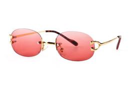 Wholesale Women Optical Frames Metal - Fashion Sun Glasses Eyeglass Rimless Frames Optical Sunglasses Metal Legs Frame Brand Designer Glasses With Case and Box