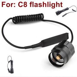 Canada C8 Interrupteur de pression câblé à distance pour lampe de poche à DEL Lampe de poche tactique Offre