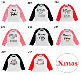 baby boy winter tshirts Coupons - Boys Girls T-shirts Baby Childrens tshirts Clothing Cartoon Letters Long Sleeve Infant Tshirts Boutique Enfant Tees Tops Clothes