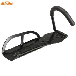 bicycle hangers Promo Codes - Bike Showing Stand Wall Hooks Hanger Wall Mounted Rack Strong Steel Bicycle Hanging Rack Cycling Parts Hot