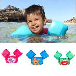 Wholesale baby swim life jackets - Children Cartoon Life Vest Jackets Kids Water Sports Life Jacket Children's Vest Baby Learn Swimming Buoyancy l2250