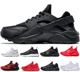 8f6a16aeaf075 Hot sale Huarache 1.0 4.0 running shoes Triple white black red gray  trainers for mens women designer shoes Huaraches sneakers size 36-45 on sale