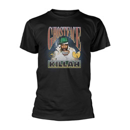 Wu tang camisetas online-Ghostface Killah Wu Tang Clan Hip Hop Rap officiel camiseta Hommes unisexe