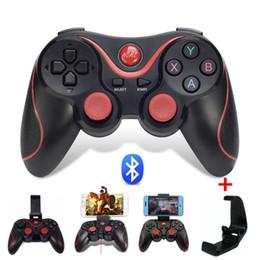 Pc controladores nuevo online-Nuevo juego S3 Wireless Bluetooth 3.0 Gamepad Control remoto Joystick Controlador de juegos para PC Android Smartphone