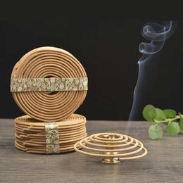 4 heures indien naturel bois de santal parfum parfum encens bobine de Bouddha 48pcs / boîte anti-moustique A ? partir de fabricateur