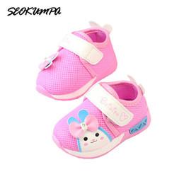 2019 sapatos de bebê sola Primavera 2018 Novo Bebê Menina Sapatos Casuais Sapatos de Fundo Macio Da Criança Sapatilhas Das Crianças Sola Macia Meninas Princesa desconto sapatos de bebê sola