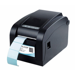 Wholesale Barcode Printers - High quality Thermal Barcode label printer Sticker printer Thermal Can print qr code do not need ink