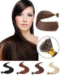 Hızlı Kargo 100 iplik paketi Nano Halka Saç Uzantıları Ucuz Fiyat Brezilyalı Düz Yüksek Kalite seçim için 5 renk supplier brazilian hair extensions fast shipping nereden brezilya saç uzantıları hızlı nakliye tedarikçiler