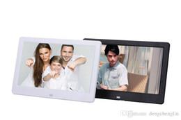 2019 lecteur de films pc 10 pouces ultra-mince LED rétro-éclairage haute définition multifonctions cadre photo numérique électronique photo album affichage vidéo vidéo vidéo p