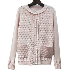 37b37dec42 Woman Tops Knitted Sweater All-match Scoop Neck Small Real Knitting  Cardigan Loose Coat 2018 Autumn And Winter Quality New Product