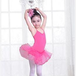 Wholesale Girls Gymnastics Clothing - High Quality child Children Girls ballet skirt gymnastics children clothing High Quality child dance costume