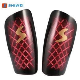 Shiwei Ein Paar Fußball Schienbeinschützer Sport Fußball Leg Pads Trainingsschutz für Anfänger und Fortgeschrittene von Fabrikanten