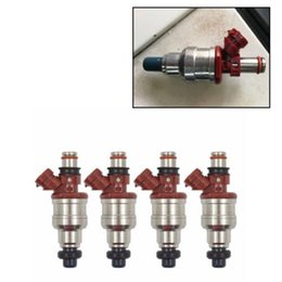 Wholesale fuel injectors for toyota - Fuel Injectors For 89-95 Toyota 4Runner Pickup T100 22RE 2.4L 23250-35040 Valid