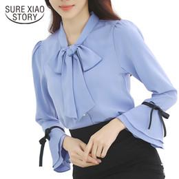Wholesale ladies office blouses - 2017 new arrival fall blouse women blouse women long sleeve fashion blousas female shirt office lady tops D29 30