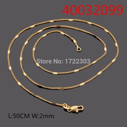 Wholesale Two Tone Gold Necklace Men - whole saleBangrui New 24K Gold Two Tone color Chain 24K Stamp Unisex Men Jewelry Choker Vintage Bamboo Chain