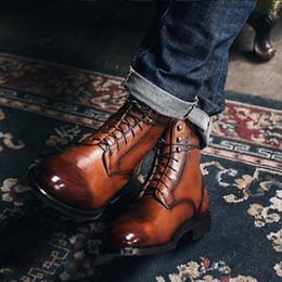 4e4628b68cc 8 Fotos Compra Online Botas de calentamiento-COSIDRAM Zapatos de invierno  de moda para hombre con cordones