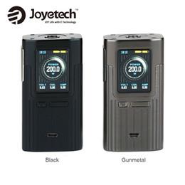 Wholesale Quick Control - Joyetech ESPION 200W TC Box MOD 1.45-inch Color Screen 2A Quick Charging Temp Control Joyetech ESPION MOD