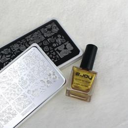 Deutschland NEUE TOP Nail art Bild Platte 6 * 12 CM Nail Stamping Platten ZJOY1-30 Design Nail art Vorlage Druckwerkzeug Stempel Bild cheap new design tops images Versorgung