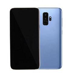 4g lt chinesischen android entriegelt Rabatt Goophone 9 plus Hinweis 8 N9 6,4 Zoll Mobiltelefon Fingerabdruck Quad Core 16 GB ROM Octa Core 4G LTE anzeigen Android Smartphone entriegelt