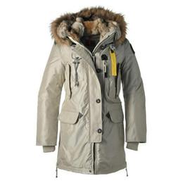 Casaco de inverno mulheres jaqueta Bege Longo para baixo parka Dupla destacável chapéu de pele Real de Alta qualidade para baixo jaqueta Plus Size de
