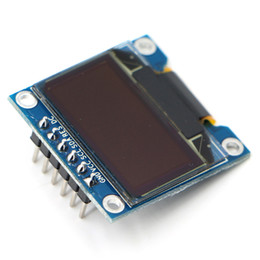 module spi Coupons - WeiKdez 20pcs lot 6Pin Yellow Blue OLED Display Module SSD1306 Drive IC 128*64 SPI Interface
