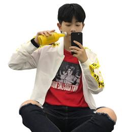 Nuovo 2018 Uomini Giacca Bomber Casual Hip Hop Giapponese Streetwear  Giacche Uomini Vestiti 2018 Chaqueta Hombre Vestiti Coreani 5J0218 7c88e5f13ed5