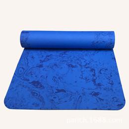 Wholesale Foam Sleep Mat - 176cm*61cm*6mm TPE Foam Yoga Mat Dampproof Sleeping Soft Comfortable Mat Exercise Foam Fitness Bodybuilding Yoga Pad