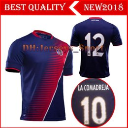 Wholesale Football Specials - Top thai quality 17 18 Costa Rica national team blue soccer Jersey 2017 2018 Gold Cup special Football shirt
