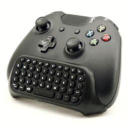Xbox-tastatur online-Schwarz Mini Bluetooth Wireless Best Adapter Tastatur Tastatur Text Pad Fernbedienung für für Microsoft Xbox One Console Controller