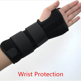 Wholesale Brace Splint - 1 Piece Wrist Protection Carpal Tunnel 2 Wrist Brace Support Sprain Forearm Splint Band