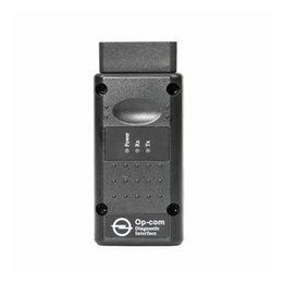 Wholesale Op Com Cable - OP-COM diagnostic interface Auto Scanner for Opel v1.65 OPCOM with PIC18F458 chip Professional OP COM diagnostic tool v2014