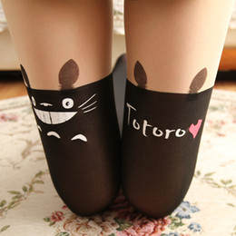 Wholesale Korean Cute Sexy - Fashion Women's Tights Korean Beauty Cute Sexy Stocking Panty hose Cat Women's Knee High Leg Warmer Pantyhose Girl Stockings