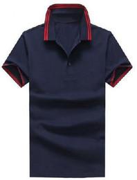 Vêtements express occasionnels en Ligne-Express Solid Polo shirt Hommes Petit Cheval Marque Vêtements Casual Polos Manches courtes hommes De haute qualité en coton Polo Shirts Blanc