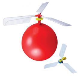 Festa Decorativa Balão Engraçado Clássico Helicóptero Balão Crianças Infladas Brinquedo Voador Criança Festa À Noite Suprimentos Helicóptero DIY Balão de Fornecedores de brinquedos baratos grossistas