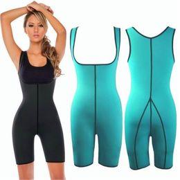 Donne di un pezzo tuta pantaloni siamesi per la corsa di sport Hot corpo shapewear corsetti di perdita di peso delle donne tute da