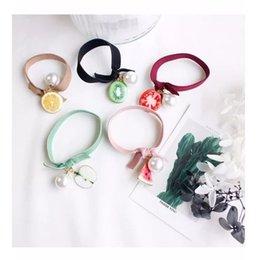 Cercle de cheveux de fruits cravate corde de cheveux de prêle manuel corde de cheveux bowknot ? partir de fabricateur