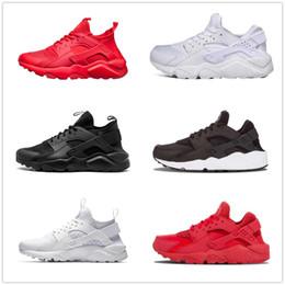 big sale a538d 07f00 Großhandel Huarache Ultra Run Schuhe dreifach weiß schwarz Männer Frauen  Laufschuhe rot grau Huaraches Sport Schuh Mens Womens Sneakers us5.5-11  huaraches ...