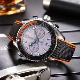 1a9676139e34 Top de fábrica Nuevo listado Sea aaa relojes de lujo para hombre cronógrafo  reloj de cuarzo famosa serie ocean ocean marca de relojes de pulsera a  prueba de ...