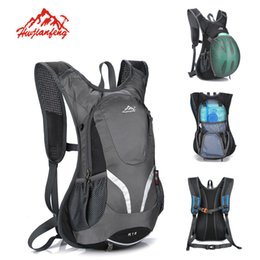 Wholesale Mtb Backpack - Outdoor Cycling Backpack 15L MTB Riding Climbing Traveling Backpacks Waterproof Sport Bags Unisex Nylon Hydration Bicycle Rucksack B115