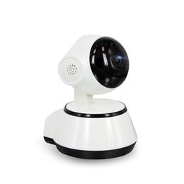 câmera de visualização ao vivo Desconto Novo ! Pan Tilt Câmera IP Sem Fio WI-FI 720 P CCTV Home Security Cam Micro Slot Apoio SD Microfone P2P Livre APP ABS Plástico
